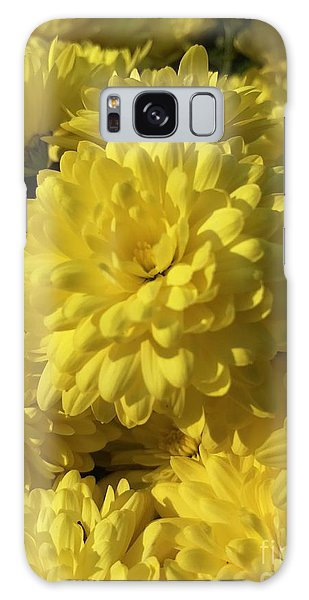 Yellow Mums Galaxy Case
