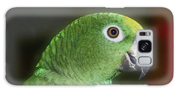 Yellow Naped Amazon Parrot Galaxy Case