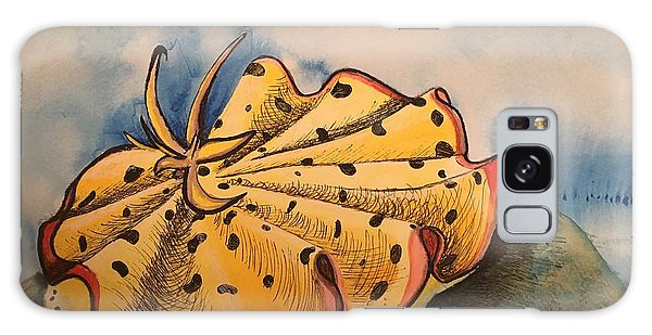 Yellow Nudibranch Galaxy Case