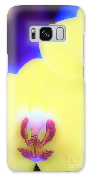Yellow Orchid Galaxy Case