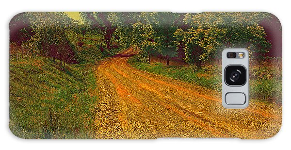 Yellow Oz Road Galaxy Case