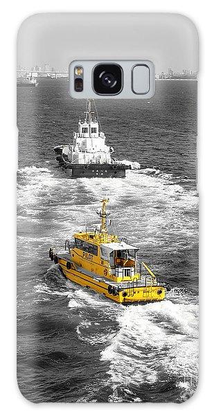Yellow Pilot Yokohama Port Galaxy Case