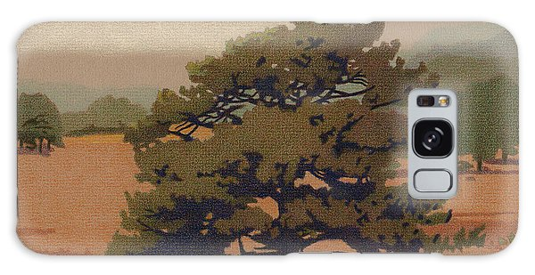 Yellow Pine Galaxy Case