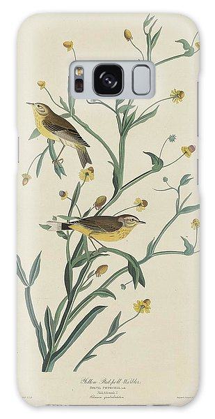 Yellow Red-poll Warbler Galaxy S8 Case