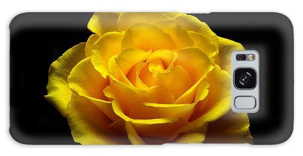 Yellow Rose 4 Galaxy Case