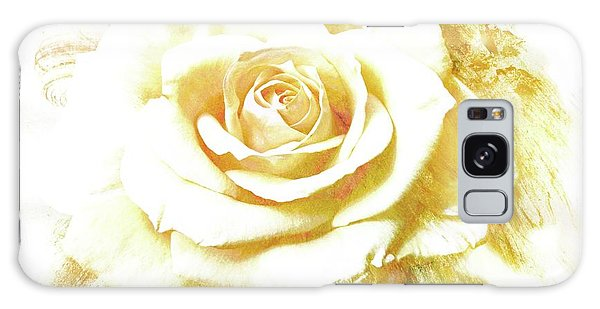 yellow Rose Galaxy Case by Athala Carole Bruckner