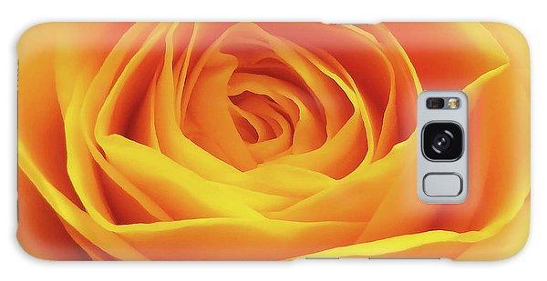 Yellow Rose Macro Galaxy Case