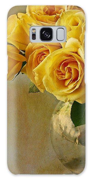 Yellow Rose Of... Galaxy Case