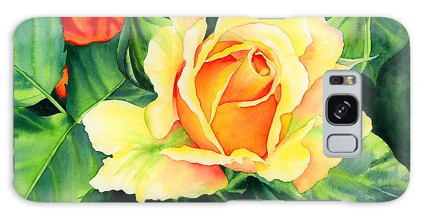 Bud Galaxy Case - Yellow Roses by Hailey E Herrera