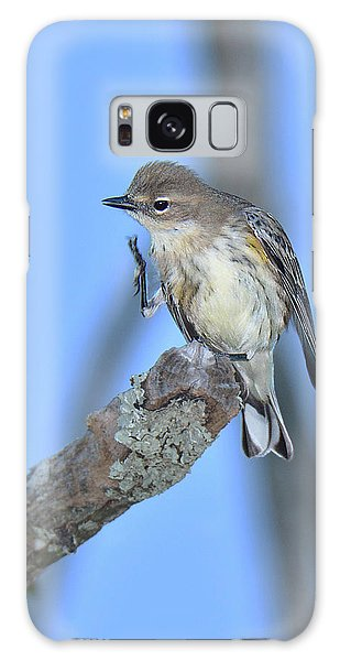 Yellow-rumped Warbler Itch Galaxy Case