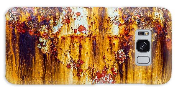 Yellow Rust Galaxy Case