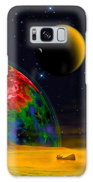 Yellow Sea On Kepler 186d Galaxy Case