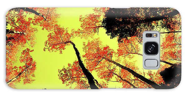 Yellow Sky, Burning Leaves Galaxy Case