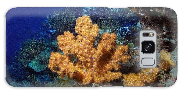 Reef Diving Galaxy Case - Yellow Soft Coral by Sergey Lukashin