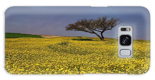 Yellow Spring Galaxy Case