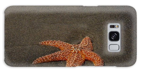 Orange Starfish On Oregon Beach Galaxy Case