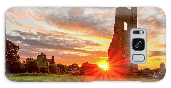 Yellow Steeple Star Galaxy Case
