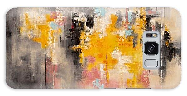 Yellow Sun Galaxy Case by Suzzanna Frank