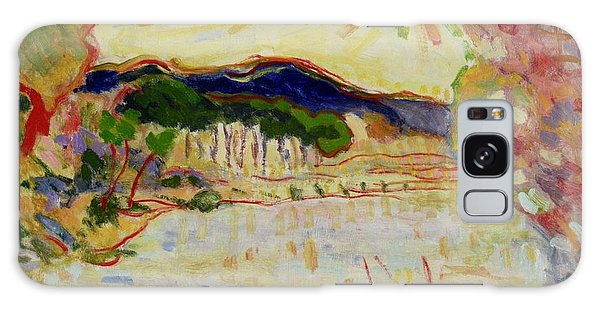 Beynac Et Cazenac , Dordogne , Yellow Sunshine  Galaxy Case by Pierre Van Dijk