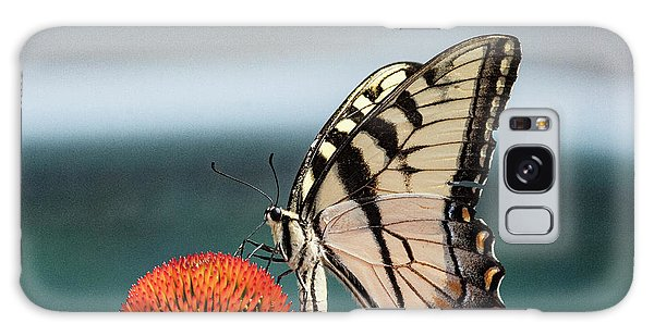 Yellow Swallowtail II Galaxy Case