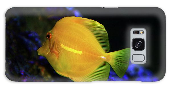 Yellow Tang Galaxy Case