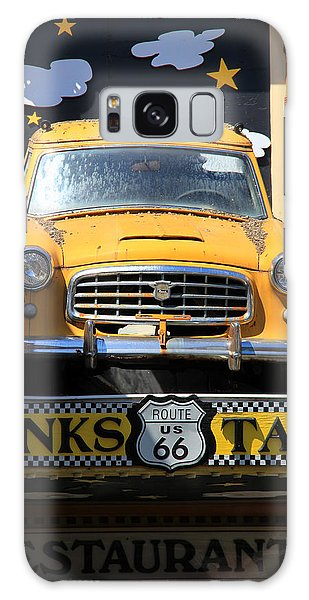 Yellow Taxi Galaxy Case
