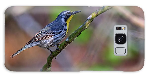 Yellow-throated Warbler Galaxy Case by Rick Berk