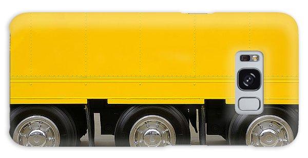 Yellow Truck Galaxy Case by Carlos Caetano