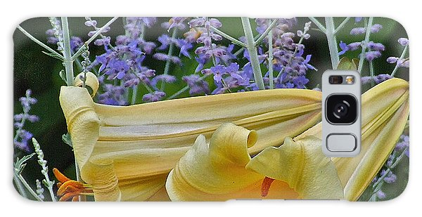 Yellow Trumpets Galaxy Case