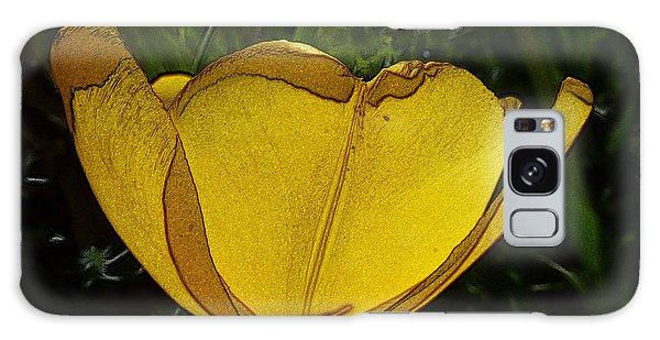Yellow Tulip 2 Galaxy Case