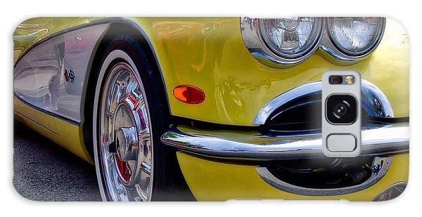 Yellow Vette Galaxy Case