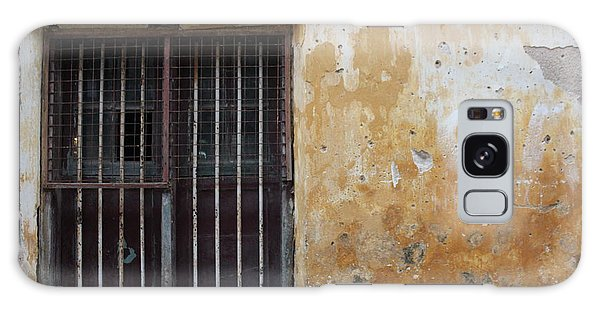 Yellow Wall, Gated Door Galaxy Case