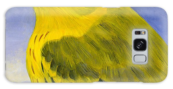 Yellow Warbler Galaxy Case by Francois Girard