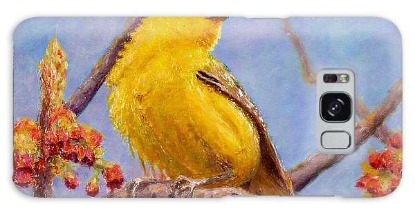 Yellow Warbler Galaxy Case