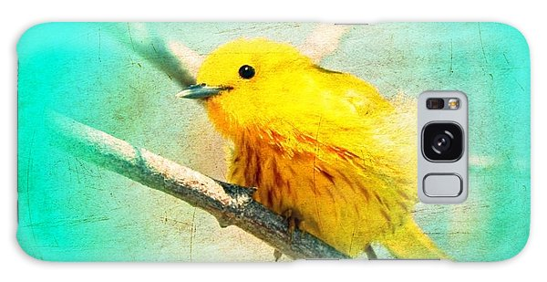 Yellow Warbler Galaxy Case by John Wills