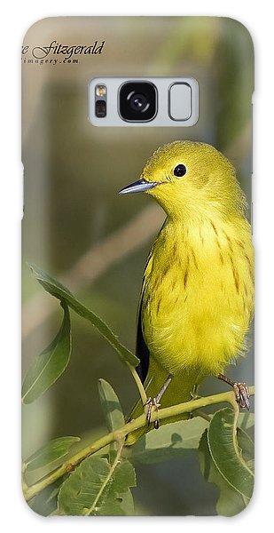 Yellow Warbler Galaxy Case