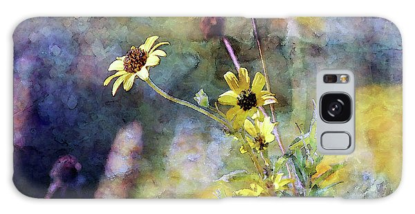 Yellow Wildflowers 3230 Idp_2 Galaxy Case