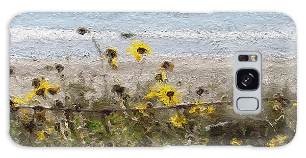 Daisy Galaxy S8 Case - Yellow Wildflowers- Art By Linda Woods by Linda Woods
