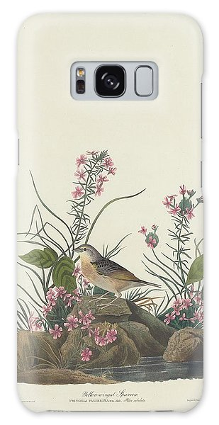 Yellow-winged Sparrow Galaxy Case by Dreyer Wildlife Print Collections