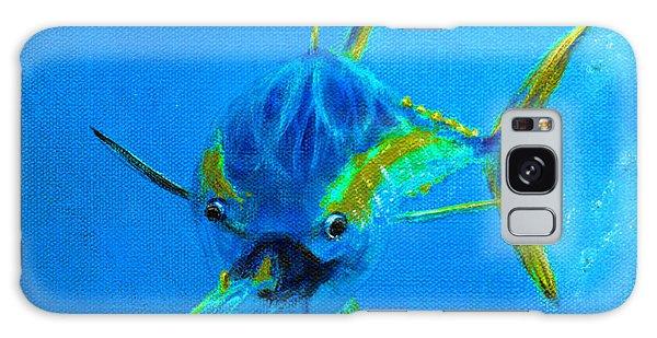 Reef Diving Galaxy Case - Yellowfin Tuna Three by Ken Figurski