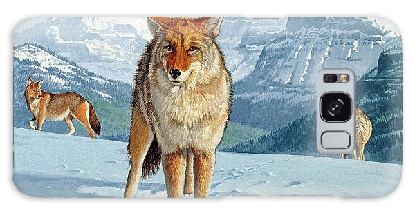 Coyote Galaxy Case - Yellowstone Coyotes by Paul Krapf