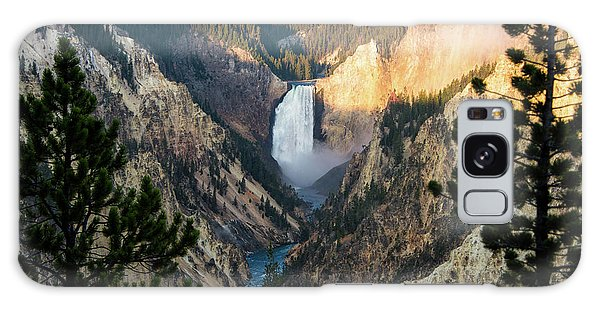 Yellowstone Falls Galaxy Case