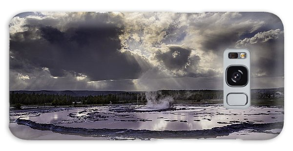 Yellowstone Geysers And Hot Springs Galaxy Case
