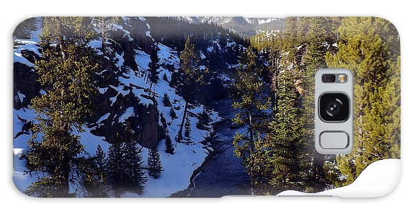 Yellowstone In Winter Galaxy Case