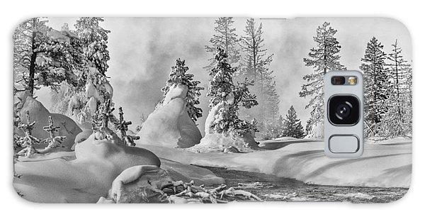 Yellowstone In Winter Galaxy Case