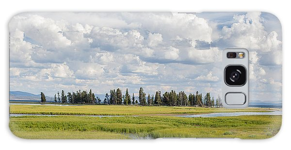 Yellowstone Meadow Galaxy Case
