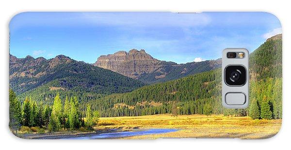 Yellowstone National Park Landscape Galaxy Case