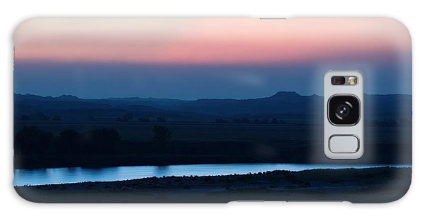Yellowstone River Evening Galaxy Case