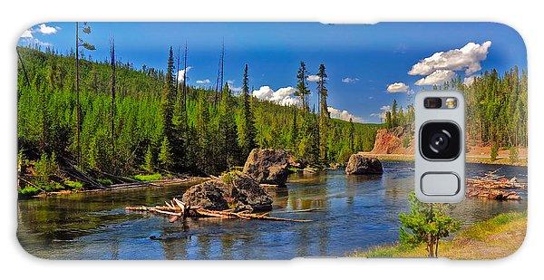 Yellowstone River Galaxy Case