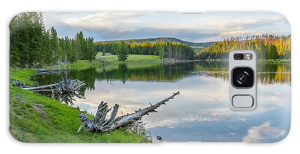 Yellowstone River Off Grand Loop Galaxy Case